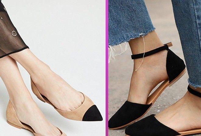 Модная и актуальная обувь на плоской подошве для сезона весна-лето
