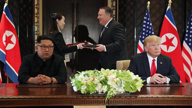 Трамп и Ким договорились. Ни о чём