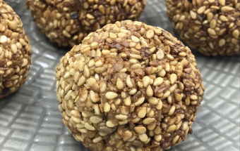 Печенье из кунжута без муки