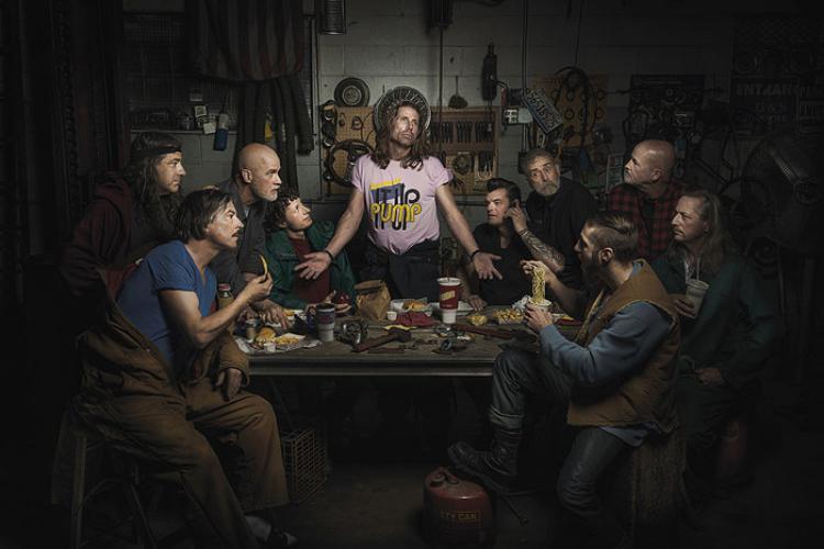 Автомеханики эпохи Ренессанса: отличные «каверы» шедевров живописи