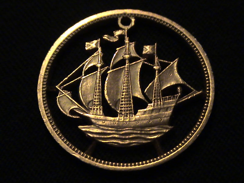 Резьба по монетам