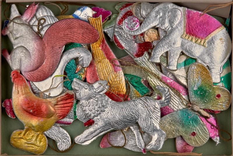 Картонные гуси-лебеди на новогодней ёлке Истории из жизни,позитив,эту страну не победить
