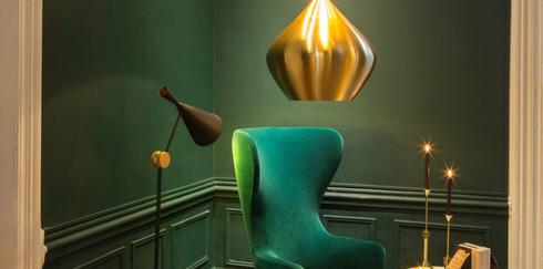 Роскошный золотой в интерьере: идеи для вашего дома
