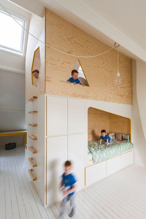 Почти домик в детской