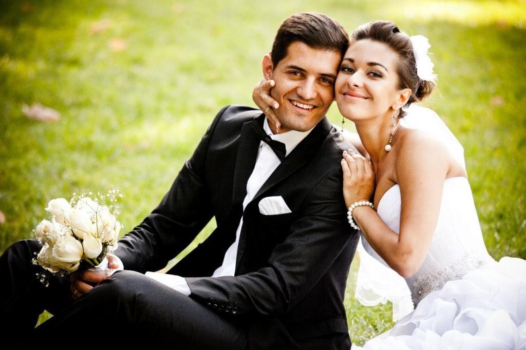 свадебные фотографии семьи