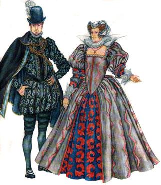 История моды. Костюм эпохи Возрождения. Испания
