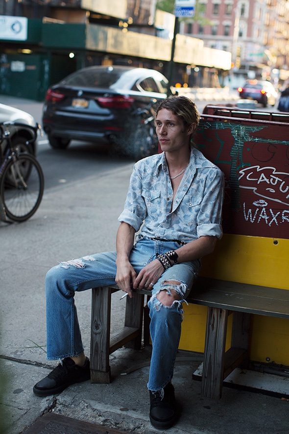 On the Street…Lower East Sid…