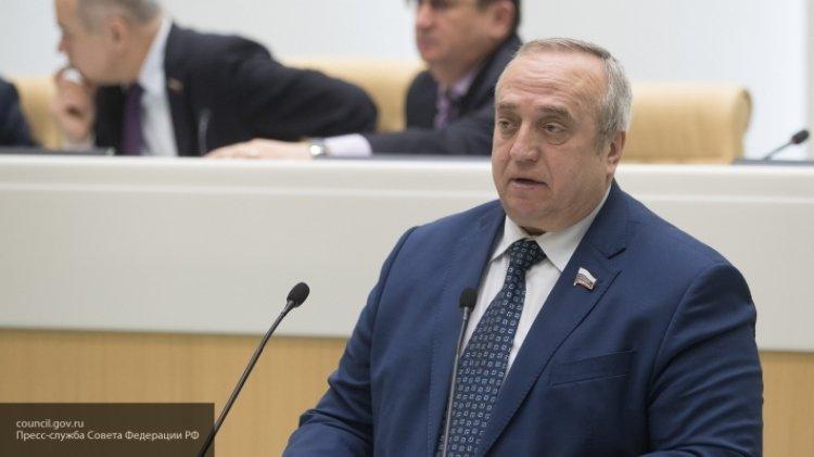 Клинцевич заявил, что у Зеленского есть причины не заканчивать войну в Донбассе.