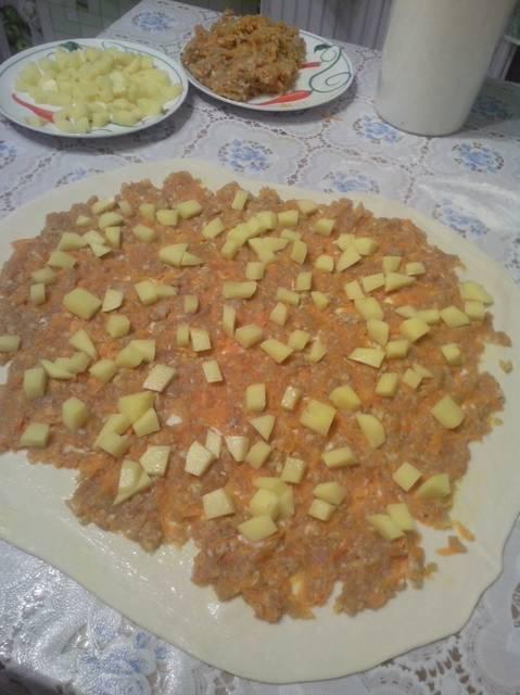 Ханум - Очень вкусное узбекское блюдо