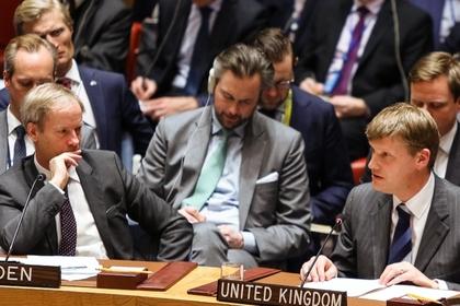 Лондон в грубой форме заблокировал заявление Созбеза ООН по делу Скрипаля