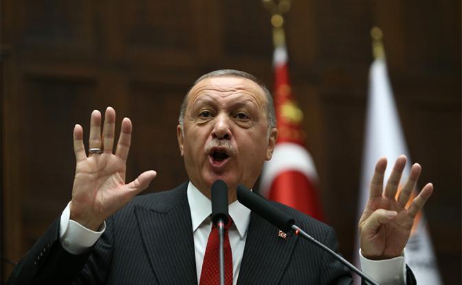 Эрдогану надоело ждать, и он идет в атаку геополитика