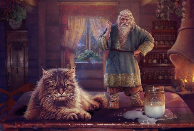 Дневник Домового ( 54-59 части )