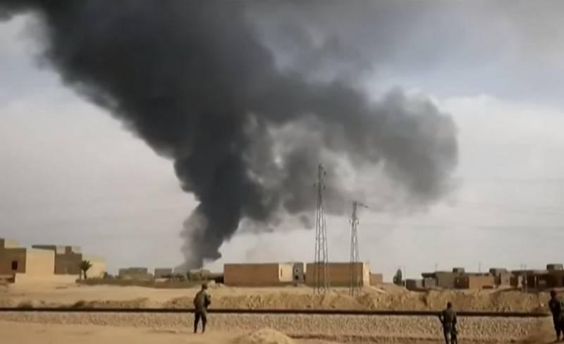В коалиции США в Ираке подтвердили факт ракетного обстрела базы Эт-Танж