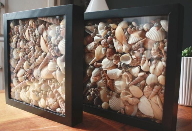 Интересные идеи декора с морскими «сувенирами»