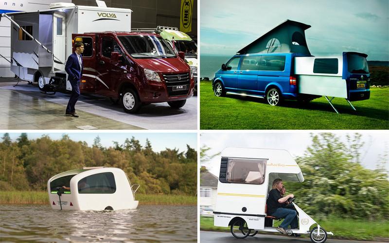 Самые необычные автомобили для путешествий, которые вас удивят