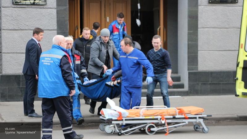 Сотрудник ФСБ стал преградой на пути у злоумышленника со взрывчаткой в Архангельске