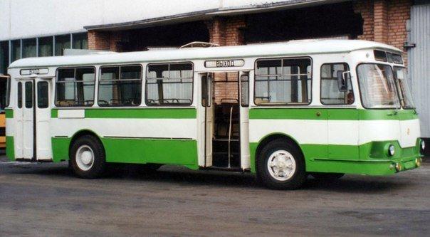 ЛиАЗ-677Б история, советские автобусы, транспорт