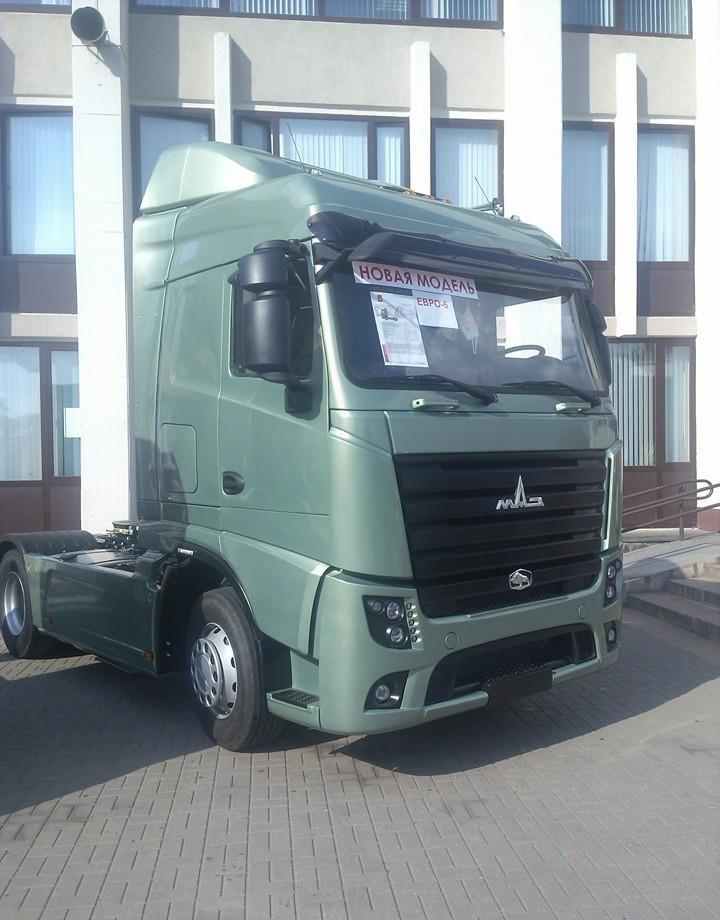 "Новый ""Маз"" класса евро-6 авто, автобус, беларусь, грузовик, маз, факты"