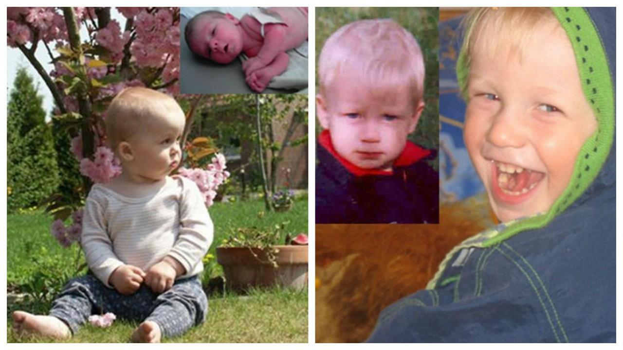 Фото детей до и после того, как их забрали из детского дома