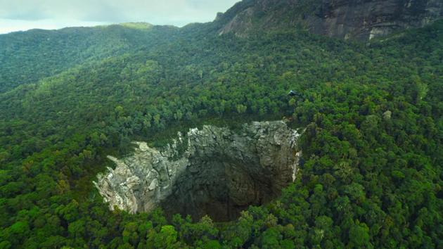 Черные дыры Земли: самые глубокие пещеры мира Пространство