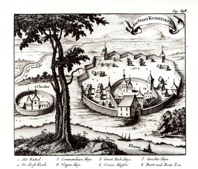 Голландец Николаас Витсен (1641-1717 гг) : путешествие в Кузнецк. Россия