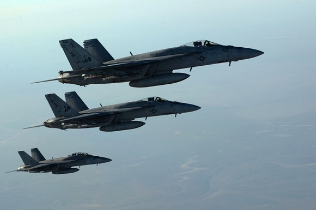 ВВС США прекратили полёты над Сирией из-за российских средств РЭБ и сирийских ПВО