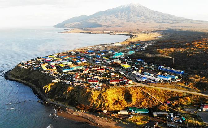 На фото: остров Итуруп в Сахалинской области