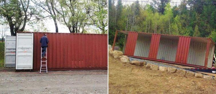 Девушка купила 4 грузовых контейнера и превратила их в потрясающий дом