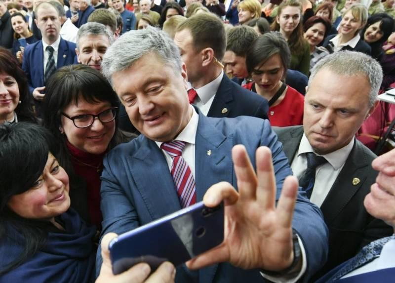 1 апреля в Киеве готовятся ловить Порошенко укоаина