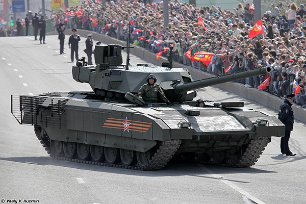 "Танк Т-14 ""Армата"" испытали в Сирии"