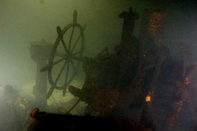 Легендарный русский миноносец нашли на дне залива