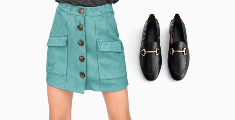 Какую обувь носить с юбками …