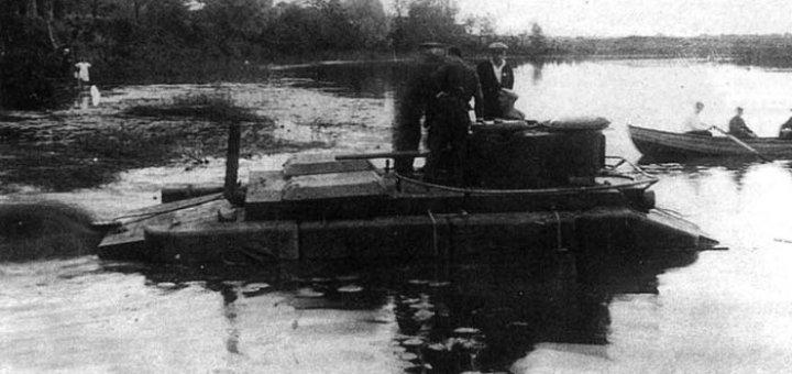 Французский лёгкий плавающий танк Batignolles-Chatillon DP-2