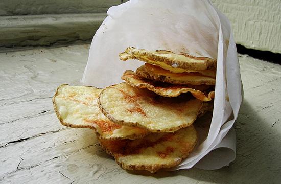 Вкуснейшие домашние картофельные чипсы из микроволновки
