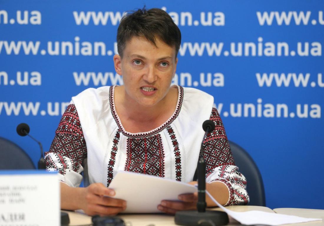 По поводу Надежды Савченко: Главное, чтобы не убили