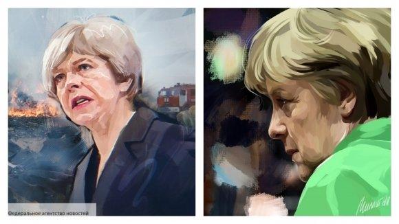 Меркель рассказала, чем обер…