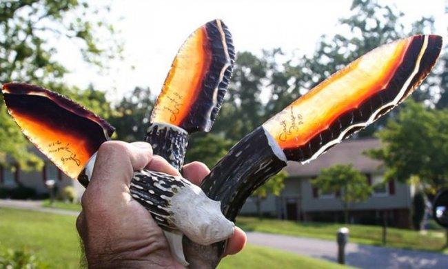 Ножи из вулканического стекла