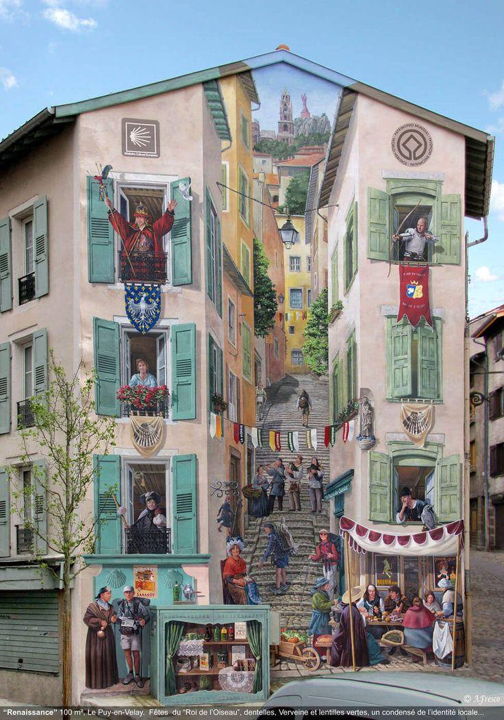 Стрит-арт на городских улицах: вдохновляющие идеи