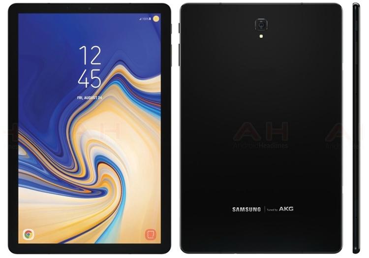 Прошивка Samsung Galaxy Tab S4 подтвердила отсутствие сканера отпечатков