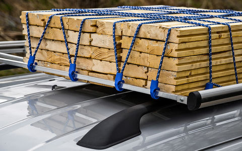 Чем зафиксировать груз на багажнике?