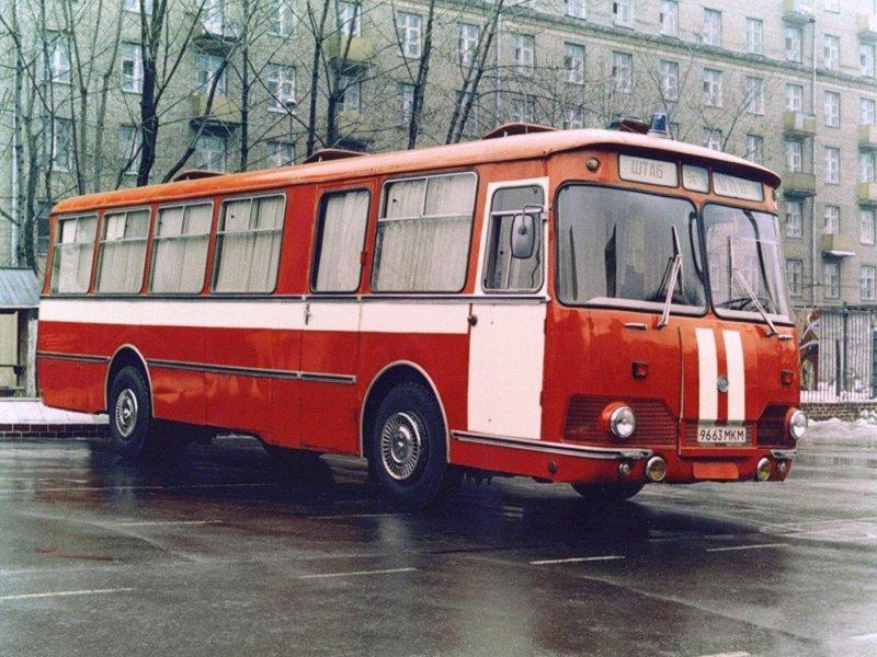 ЛиАЗ-677Э история, советские автобусы, транспорт