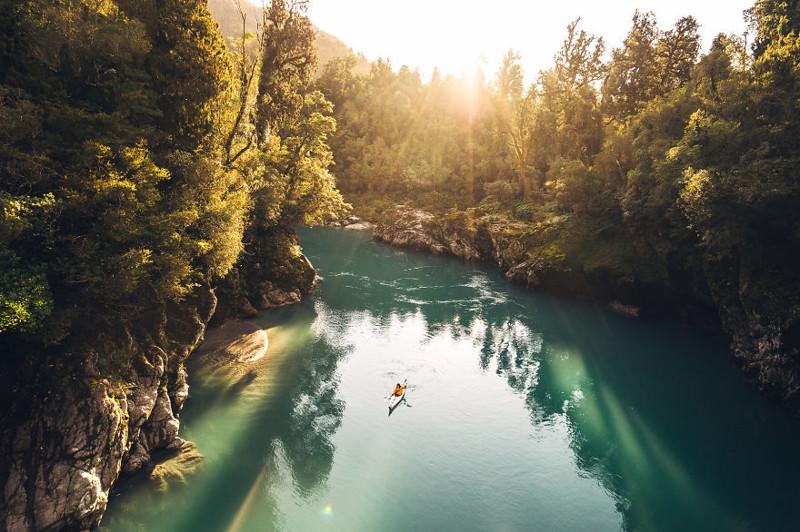 Красоты Новой Зеландии в фотографиях путешественника