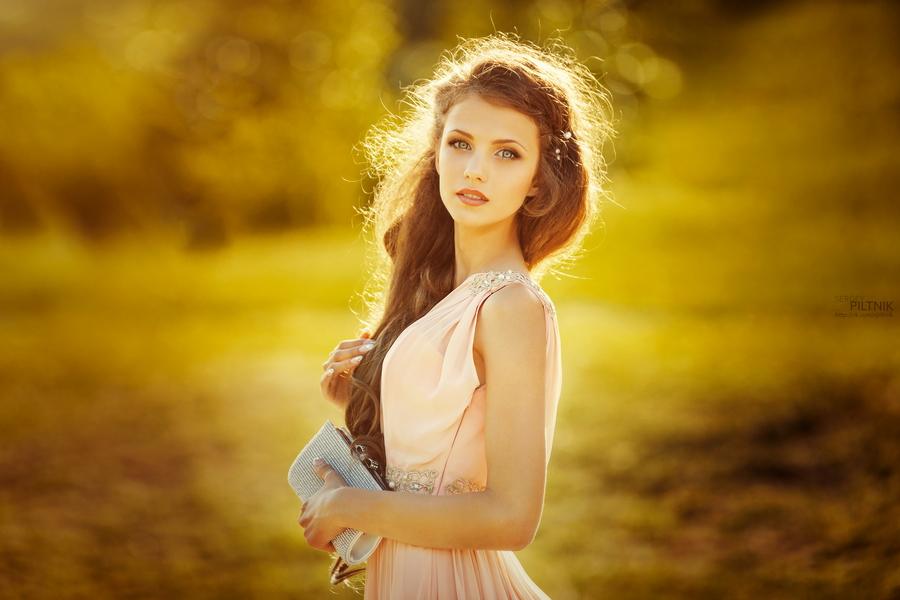 Прекрасные женские портреты белорусского фотографа