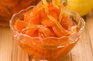 Необычное варенье из моркови с лимоном