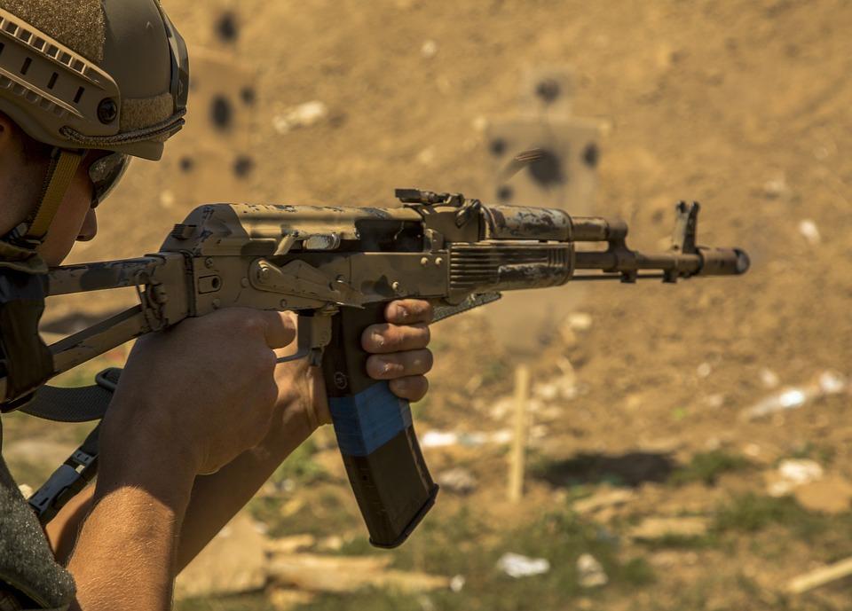 Украинские пограничники заменили автоматы Калашникова на винтовки НАТО