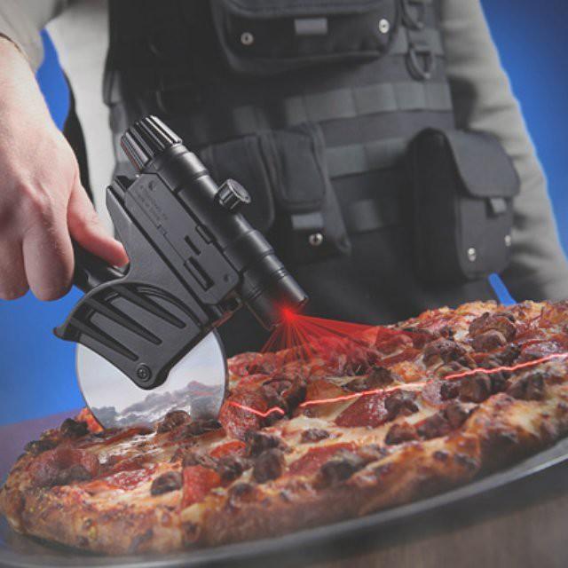 Тактическая лазерная пиццерезка гаджет, дизайн, креатив
