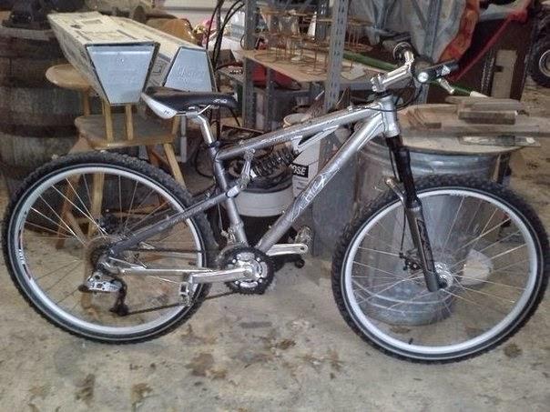 Велосипед, переделанный под …