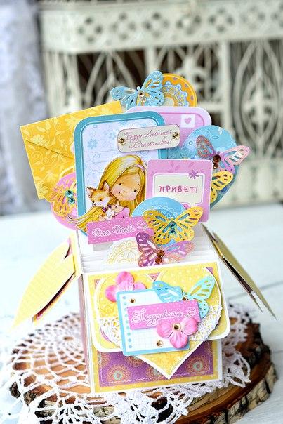 """Нежная и радостная, идеальна для девочек, позитивная коллекция Scrapberry's Young and Free или """"Подружки"""""""