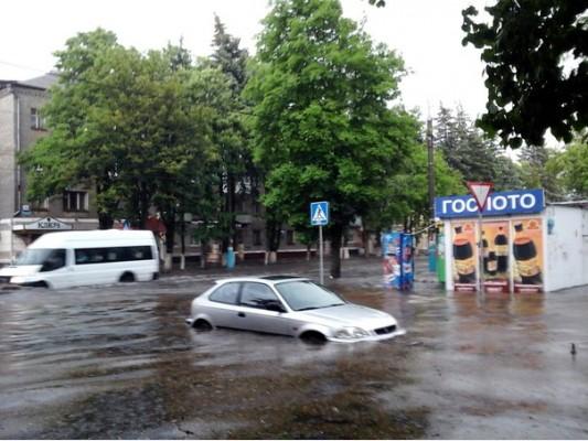 Страшная гроза затопила Брянск