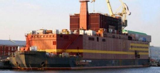Первый реактор плавучей АЭС «Академик Ломоносов» запустят уже в октябре